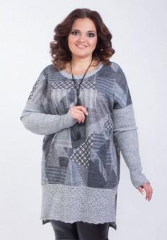 Туника, Wisell, цвет: серый. Артикул: MP002XW0NPB2. Одежда / Туники