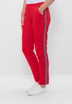 Брюки спортивные, Cleo, цвет: красный. Артикул: MP002XW0OM1D. Одежда / Брюки