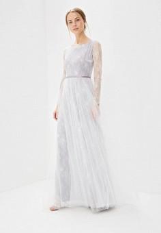 Платье, Lakshmi fashion, цвет: фиолетовый. Артикул: MP002XW0WK8J. Одежда / Платья и сарафаны / Вечерние платья