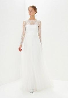 Платье, Lakshmi fashion, цвет: белый. Артикул: MP002XW0WK8K. Одежда / Платья и сарафаны / Вечерние платья