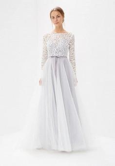 Платье, Lakshmi fashion, цвет: белый. Артикул: MP002XW0WK8L. Одежда / Платья и сарафаны / Вечерние платья