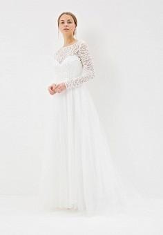 Платье, Lakshmi fashion, цвет: белый. Артикул: MP002XW0WK8N. Одежда / Платья и сарафаны / Вечерние платья