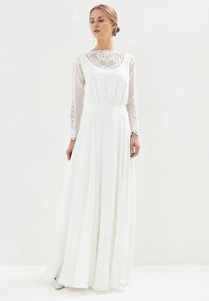 Платье, Lakshmi fashion, цвет: белый. Артикул: MP002XW0WK8V. Одежда / Платья и сарафаны / Вечерние платья