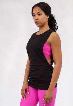 Майка спортивная, Bodro Design, цвет: черный. Артикул: MP002XW11H5O. Одежда / Топы и майки