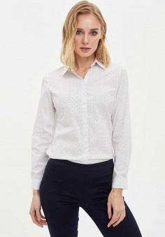Рубашка, DeFacto, цвет: белый. Артикул: MP002XW11NL0. Одежда / Блузы и рубашки