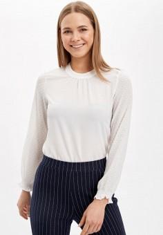 Блуза, DeFacto, цвет: белый. Артикул: MP002XW11NPL. Одежда / Блузы и рубашки