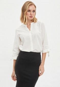 Рубашка, DeFacto, цвет: белый. Артикул: MP002XW11NQ3. Одежда / Блузы и рубашки / Рубашки