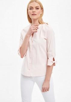 Рубашка, DeFacto, цвет: розовый. Артикул: MP002XW11NR0. Одежда / Блузы и рубашки / Рубашки