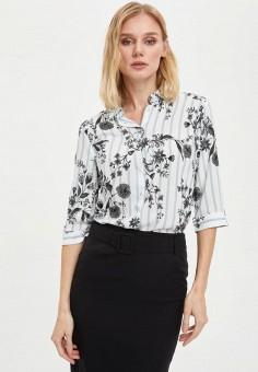 Рубашка, DeFacto, цвет: белый. Артикул: MP002XW11NRP. Одежда / Блузы и рубашки / Рубашки