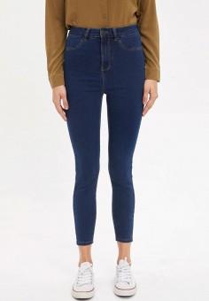 Джинсы, DeFacto, цвет: синий. Артикул: MP002XW11NRY. Одежда / Джинсы / Узкие джинсы
