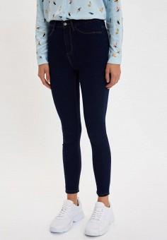 Джинсы, DeFacto, цвет: синий. Артикул: MP002XW11NS0. Одежда / Джинсы / Узкие джинсы
