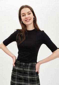 Джемпер, DeFacto, цвет: черный. Артикул: MP002XW11NSM. Одежда / Джемперы, свитеры и кардиганы / Джемперы и пуловеры