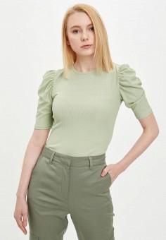 Джемпер, DeFacto, цвет: зеленый. Артикул: MP002XW11QIH. Одежда / Одежда больших размеров