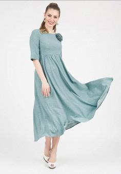 Платье, Olivegrey, цвет: голубой. Артикул: MP002XW13ISJ.