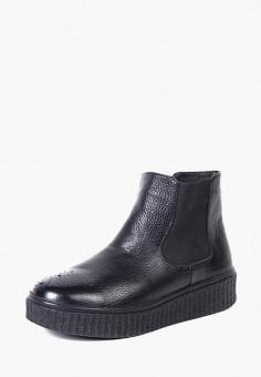 Ботинки, LioKaz, цвет: черный. Артикул: MP002XW13Q99. Обувь / Ботинки / Челси