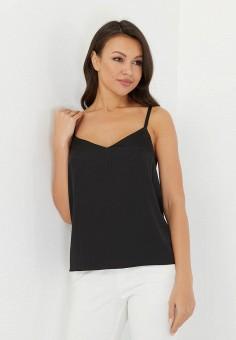 Топ, Madlen, цвет: черный. Артикул: MP002XW1544D. Одежда / Топы и майки