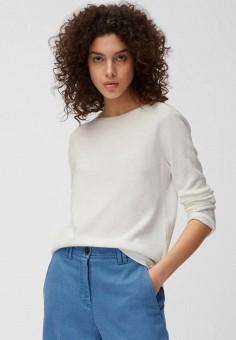 Джемпер, Marc O'Polo, цвет: белый. Артикул: MP002XW15AAC. Одежда / Джемперы, свитеры и кардиганы / Джемперы и пуловеры