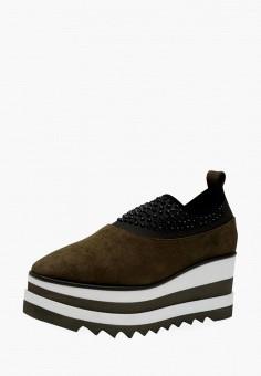 Слипоны, Hotic, цвет: коричневый. Артикул: MP002XW1IIQZ. Обувь / Слипоны