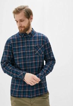 Рубашка, Mustang, цвет: бирюзовый. Артикул: MU454EMIARN7. Одежда / Рубашки / Рубашки с длинным рукавом