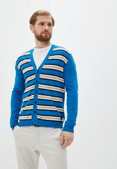 Кардиган, Twinset Milano, цвет: голубой. Артикул: MY014EMJEMP9. Одежда / Джемперы, свитеры и кардиганы / Кардиганы