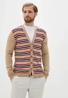 Кардиган, Twinset Milano, цвет: бежевый. Артикул: MY014EMJEMQ0. Одежда / Джемперы, свитеры и кардиганы / Кардиганы