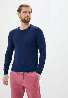 Джемпер, Twinset Milano, цвет: синий. Артикул: MY014EMJEMT1. Одежда / Джемперы, свитеры и кардиганы / Джемперы и пуловеры