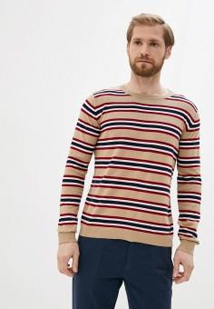 Джемпер, Twinset Milano, цвет: бежевый. Артикул: MY014EMJHCZ4. Одежда / Джемперы, свитеры и кардиганы / Джемперы и пуловеры