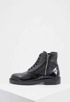 Ботинки, N21, цвет: черный. Артикул: N1380AMGDXA5. Обувь / Ботинки / Высокие ботинки