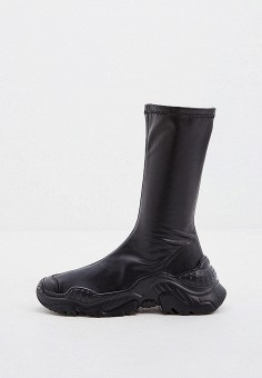 Полусапоги, N21, цвет: черный. Артикул: N1380AWGDWY9. Обувь / Сапоги / Полусапоги