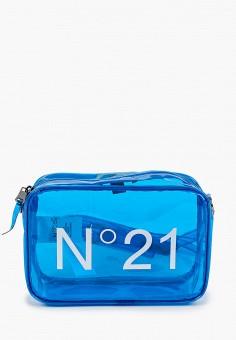 Сумка, N21, цвет: голубой. Артикул: N1380BGIWTH2. Девочкам / Аксессуары