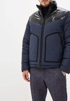 Куртка утепленная, N21, цвет: синий. Артикул: N1380EMFQOV6. Одежда / Верхняя одежда / Пуховики и зимние куртки / Зимние куртки