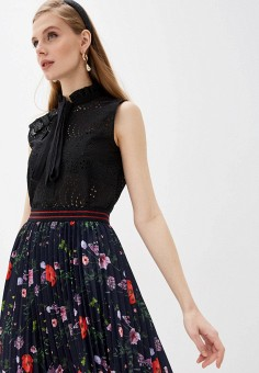 Блуза, N21, цвет: черный. Артикул: N1380EWHXLI5. Одежда / Блузы и рубашки / Блузы