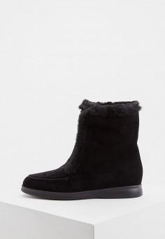 Полусапоги, Nando Muzi, цвет: черный. Артикул: NA008AWFVJD4. Обувь / Сапоги / Полусапоги