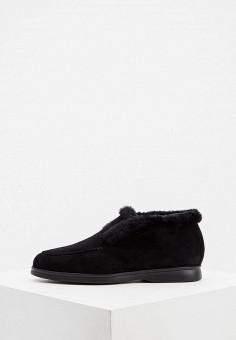 Ботинки, Nando Muzi, цвет: черный. Артикул: NA008AWJUYX2. Обувь / Ботинки / Низкие ботинки
