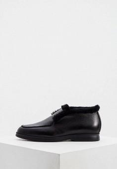 Ботинки, Nando Muzi, цвет: черный. Артикул: NA008AWJUYX9. Обувь / Ботинки / Низкие ботинки