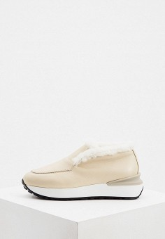 Ботинки, Nando Muzi, цвет: бежевый. Артикул: NA008AWJUYY1. Обувь / Ботинки / Низкие ботинки