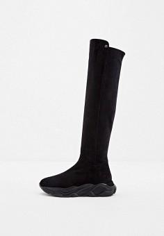 Ботфорты, Nando Muzi, цвет: черный. Артикул: NA008AWJYJI2. Обувь / Сапоги / Ботфорты