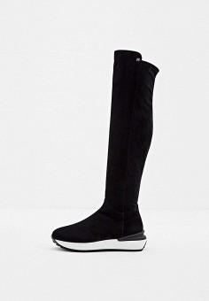 Ботфорты, Nando Muzi, цвет: черный. Артикул: NA008AWJYJI3. Обувь / Сапоги / Ботфорты