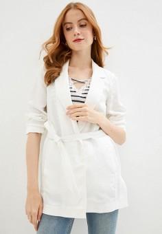 Кимоно, Naf Naf, цвет: белый. Артикул: NA018EWIKXM3. Одежда / Пиджаки и костюмы