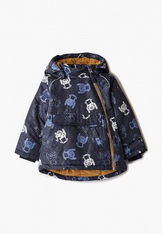 Куртка утепленная, Name It, цвет: синий. Артикул: NA020EBJPRE9. Мальчикам / Одежда / Верхняя одежда / Куртки и пуховики