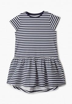 Платье, Name It, цвет: синий. Артикул: NA020EGIPDO6. Девочкам / Одежда / Платья и сарафаны