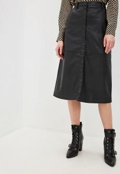 Юбка, NA-KD, цвет: черный. Артикул: NA033EWGQRF6. Одежда / Юбки