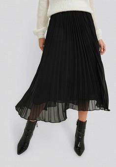 Юбка, NA-KD, цвет: черный. Артикул: NA033EWHOBV2. Одежда / Юбки
