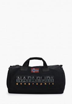 Сумка спортивная, Napapijri, цвет: черный. Артикул: NA154BUIOQX0.