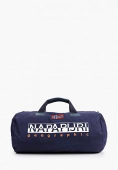 Сумка спортивная, Napapijri, цвет: синий. Артикул: NA154BUIOQX1.