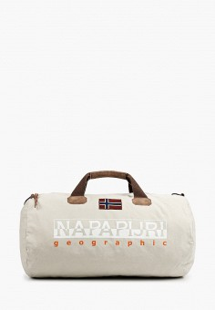 Сумка, Napapijri, цвет: серый. Артикул: NA154BUIOQX2.