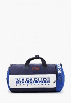 Сумка спортивная, Napapijri, цвет: синий. Артикул: NA154BUIOQZ6.