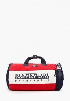 Сумка спортивная, Napapijri, цвет: красный. Артикул: NA154BUIOQZ7.