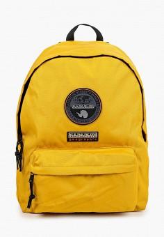 Рюкзак, Napapijri, цвет: желтый. Артикул: NA154BUIORA2.