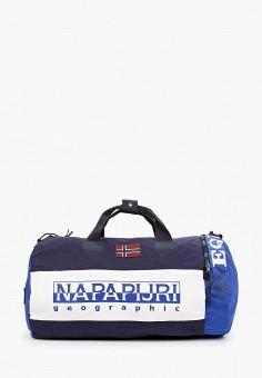 Сумка спортивная, Napapijri, цвет: синий. Артикул: NA154BUJWTD4.